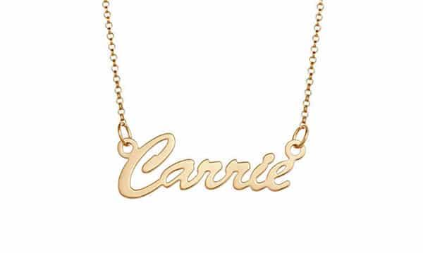 Zales Cursive Name Necklace (1 Line)