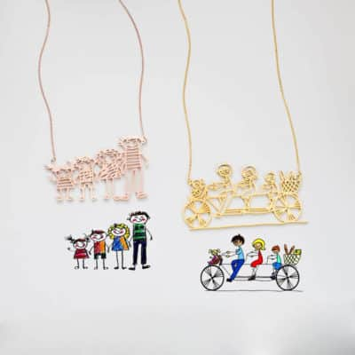 Special Kid Necklaces for Moms and Grandmas