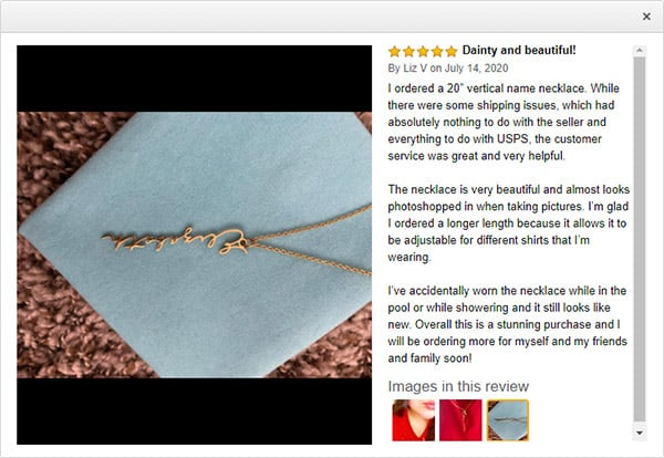 Remember to Look out for Reviews When Buying Personalized Jewelry