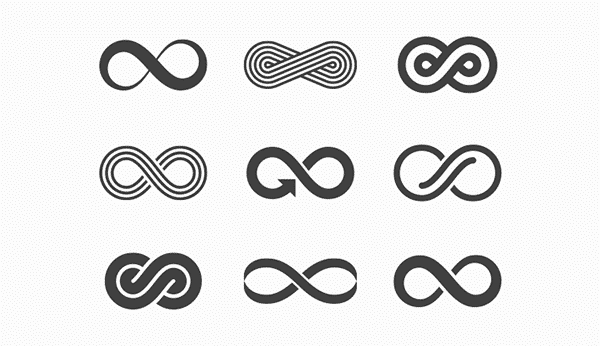 Different Types of Infinity Symbol Designs