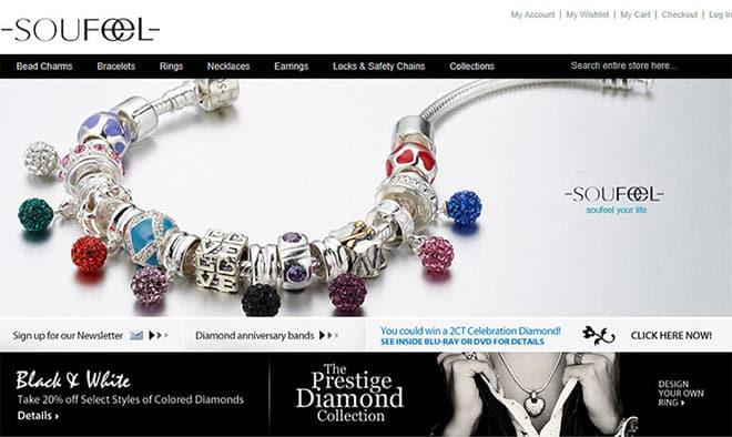 Soufeel Development Phase 1: 2011 (General Online Jewelry Store)