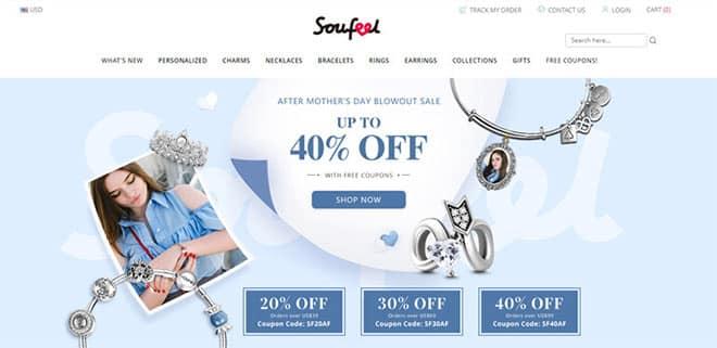 Soufeel Development Phase 2016: Personalized Jewelry Brand