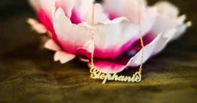 Soufeel Carrie Name Necklace (14k Gold-Plated): Bestseller