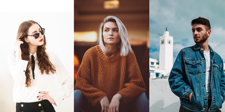 Outfit Inspiration for Wearing Wooden Photo Watch in Winter or Autumn