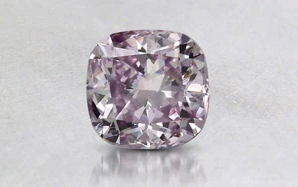 Brilliant Earth 0.3 Carat Pink-Purple Diamond