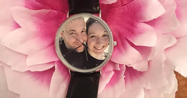 Social Media Cover: Stephaine's Soufeel Engraved Photo Watch