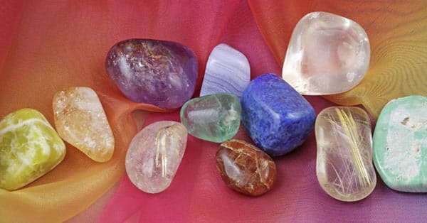 Basics of Gemstones: A Rainbow of Colors on Chiffon Material