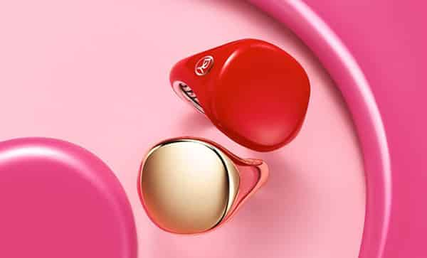 David Yurman's Colorful Signet Ring With Ceramic Coating