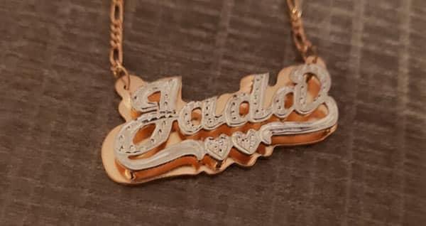 KetiSorelyDesigns Handmade 3D Nameplate Necklace