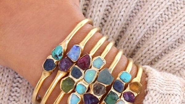 Custom Birthstone Bracelet With Multiple Birthstones in Any Order