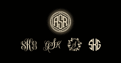 Monogram Fonts & Styles: Pick the Right One for Your Jewelry