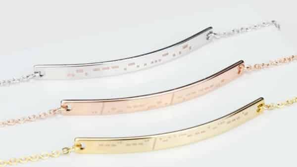 Custom Morse Code Bracelets: Sharing Secret Messages