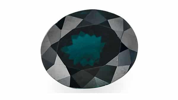 JTV Oval-Cut Blue Garnet Gemstone