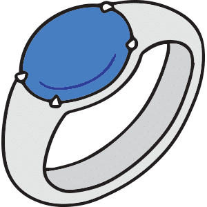 What Does Blue on the Mood Ring Mean?