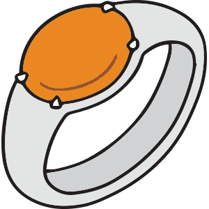 What's the Meaning of the Orange Mood Ring?