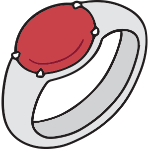 What's the Significance of a Red Mood Ring?