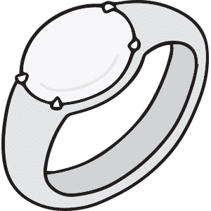 White Mood Ring Meaning