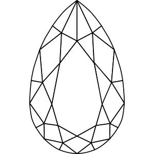Diamond Shape: Pear
