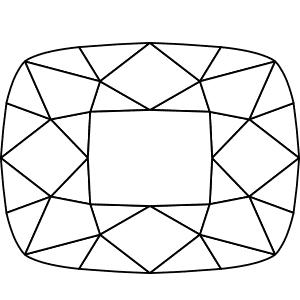 Diamond Shape: Rectangle (Cushion Cut)