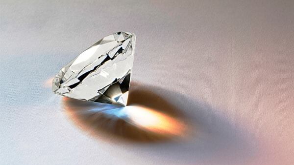 The Fire and Scintillation of a Faceted Diamond