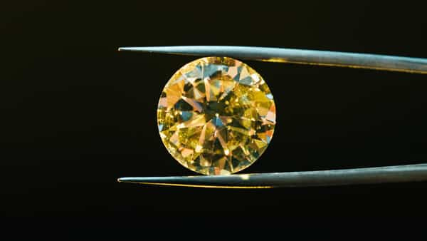 Sparkling Yellow Diamond: Associated With the Sun and Its Life Force