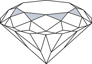 The Star Facets of a Diamond