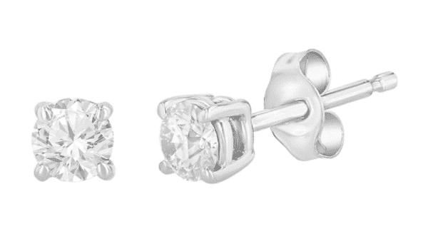 Affordable Diamond Stud Earrings (Eleganti)