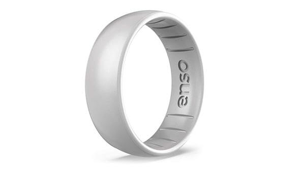 Metallic Silicone Wedding Band (Enso Rings)
