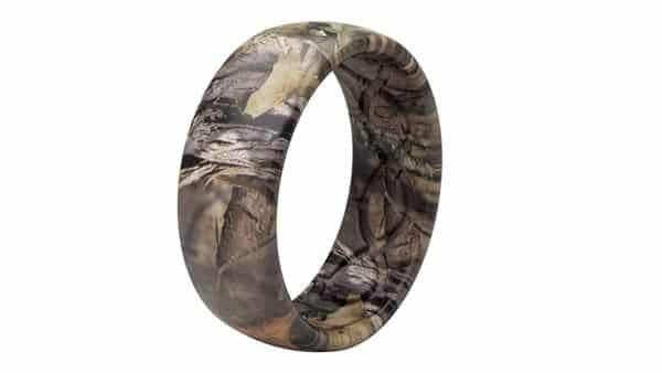 Camo Style Silicone Rings for Outdoor Adventures