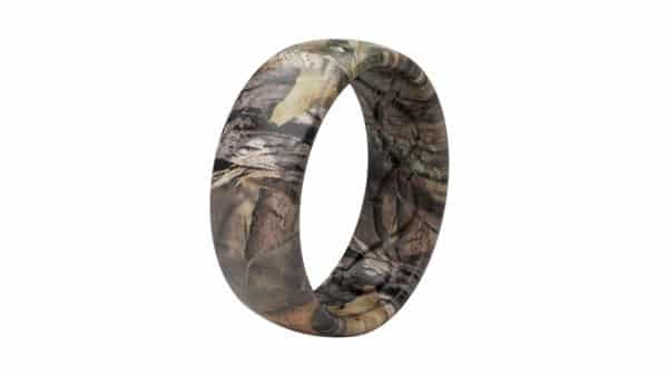Camo Style Silicone Ring: Great for Outdoorsy Activities and Events