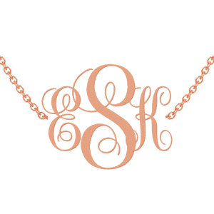 Read Our Monogram Necklace Guide