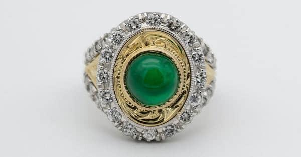 Top Green Gemstones List: A Green Gem Vintage Ring