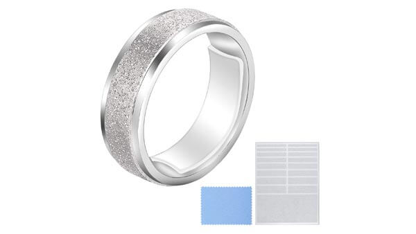Blulu Ring Size Adjuster, Loose Ring Adjuster, Invisible Ring Sizer With Clean Cloth