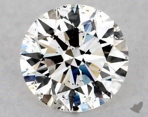 I1 Clarity Diamond - Contains Major Flaws - James Allen SKU 9883508