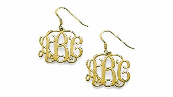Classic Monogram Drop Earrings