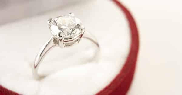 Ring in a Jewelry Box: Diamond Carat Education
