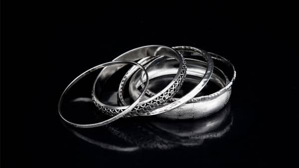 Rings in Different White Metals