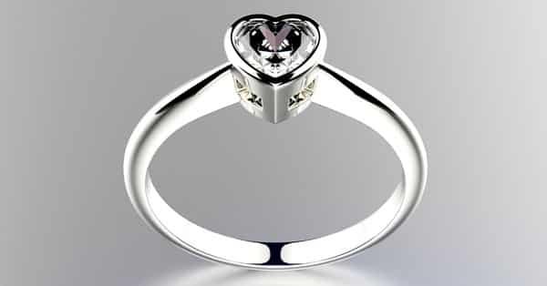 Example of Bezel Setting Ring