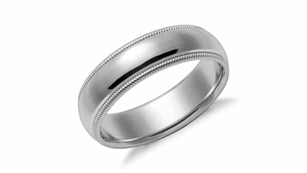 Milgrain Ring Style: Outer Edge of a Ring