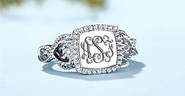 Personalized Monogram Ring (By AILIN)