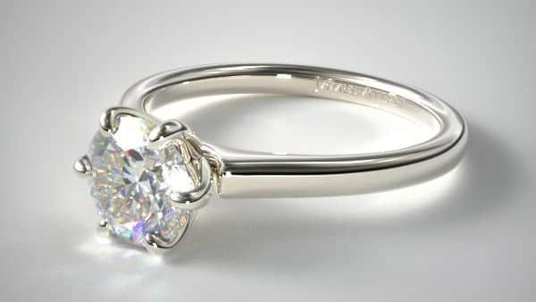 Prong Setting Ring by James Allen