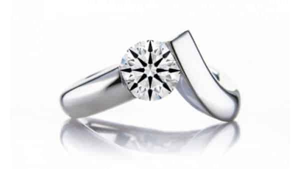 V-Ring Tension Style Ring (Brian Gavin)