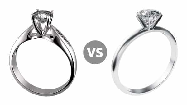 Cathedral vs. Prong Setting