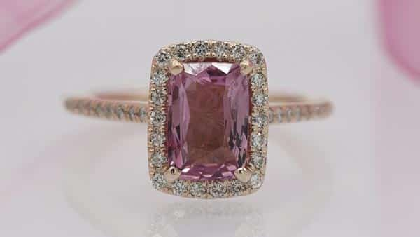 4Cs and Colored Gemstone Quality Assessment: Pink Sapphire