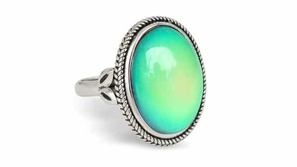 Fun Jewels Vintage Style Mood Ring (Adjustable Ring Size)