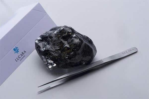 The Sewelo Diamond by Lucara Diamond Corp.