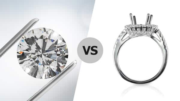 Diamond vs. Ring Setting: Arranging Your Budget