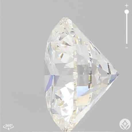 Ideal Cut G Color Round Diamond