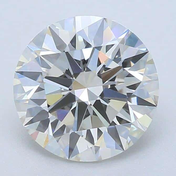 Lab-Created 1 Carat Ideal-Cut H-Color VS1-Clarity Round Diamond