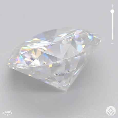 Premium Round Moissanite Loose Stone